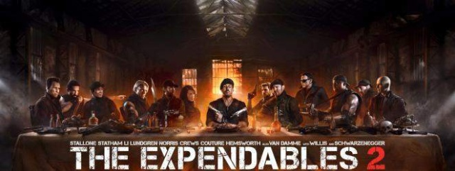The Expendables 2 2012 Alief Workshop