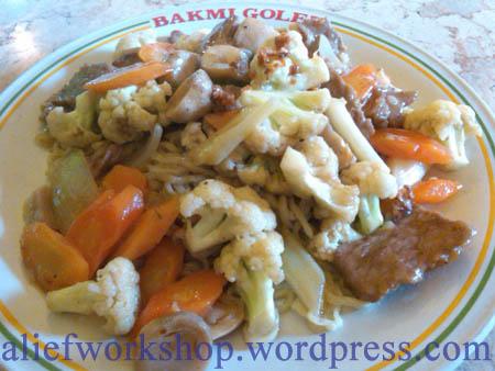 Bakmi Cah Daging Sapi