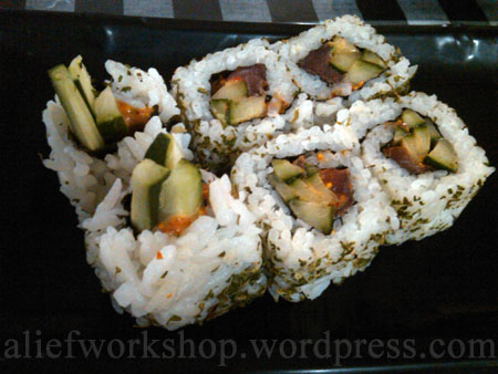 Spicy Teka Roll