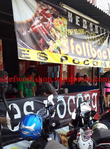 Warung Es Pocong, Warungnya Anak Kuliahan :) | Alief Workshop