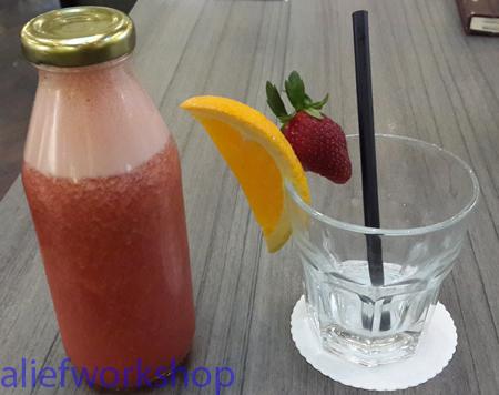 Strawberry & Orange Juice