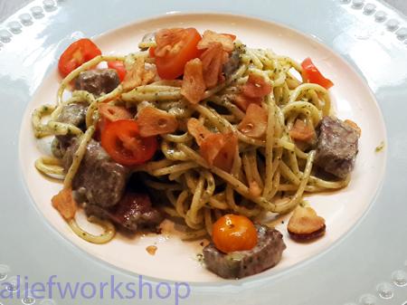 Roast Beef Pasta
