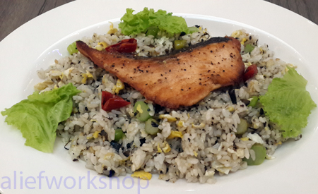 Black Olive Fried Rice
