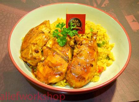 Peri-Peri Chicken Rice Paella