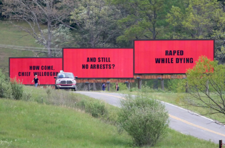 Three Billboards Ebbing